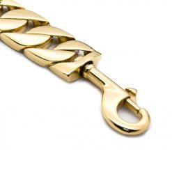 Gold Chain Dog Lead