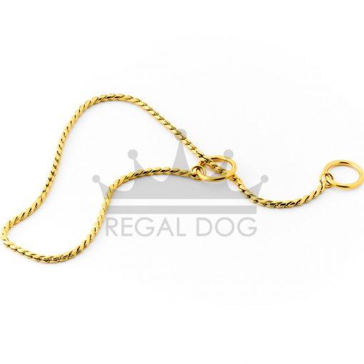 Gold London Dog Necklace