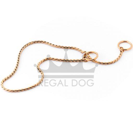 Rose Gold London Dog Necklace