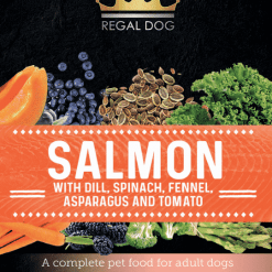 Dog Superfoods with Salmon
