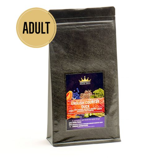 Premium Complete Dog Food with Duck