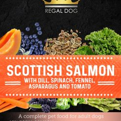 Grain free Complete Dog Food with Salmon