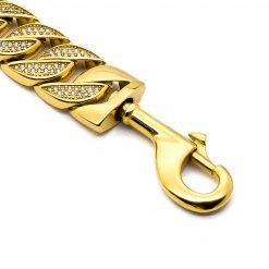 Gold Diamond Dog Leash