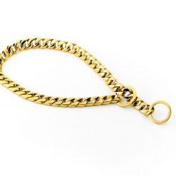 Gold Monaco Dog Necklace