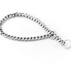 Silver Monaco Dog Necklace
