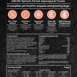 Puppy Grain free Complete Dog Food with Salmon