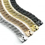 Diamond Chain Dog Collar Selection
