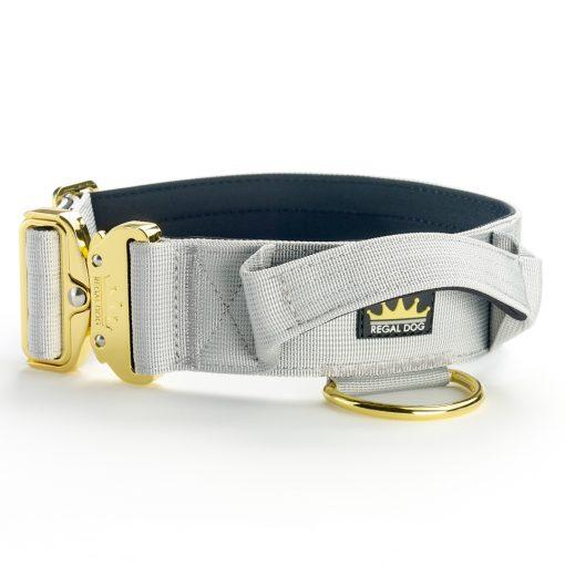 Grey Gold Series Tactical Dog Collar