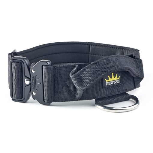 Black Tactical Dog Collar