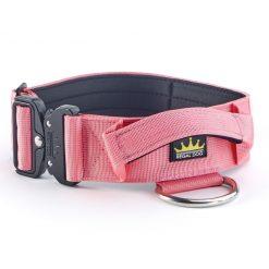 Pink Tactical Dog Collar