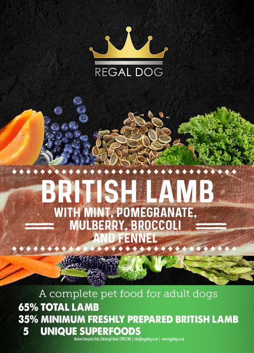 Complete Dog food - Lamb with superfoods
