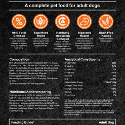 Complete Dog food - Chicken with superfoods