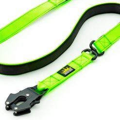 Green Tactical Dog Lead with Frog Clip