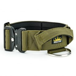 Khaki Tactical Dog Collar